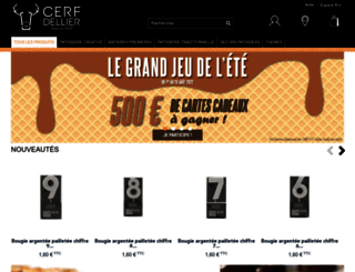 cerfdellier.com screenshot