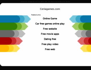 ceriagames.com screenshot