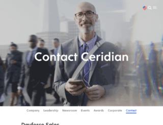ceridian-benefits.com screenshot