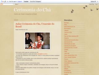cerimoniacha.blogspot.com.br screenshot