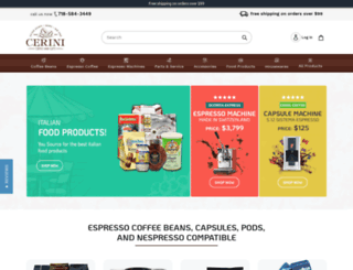 cerinicoffee.com screenshot