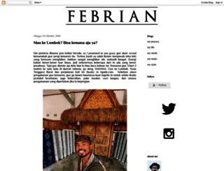 ceritafebrian.com screenshot