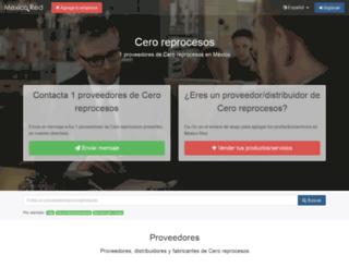 cero-reprocesos.mexicored.com.mx screenshot