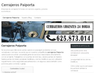 cerrajeropaiporta.es screenshot