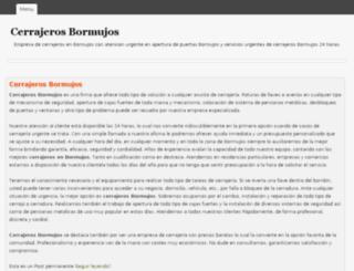 cerrajerosbormujos.com screenshot