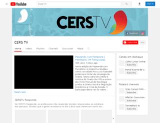 cerstv.com.br screenshot