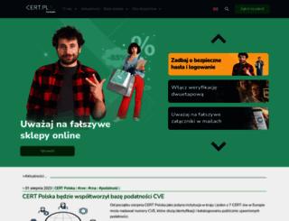 cert.pl screenshot