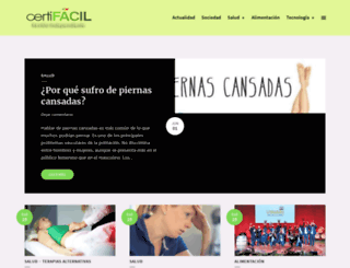 certifacil.es screenshot