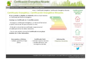 certificas.es screenshot