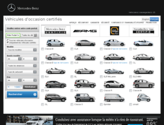 certifie.mercedes-benz.ca screenshot