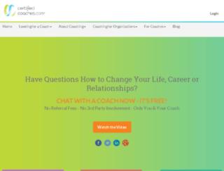 certifiedcoaches.com screenshot
