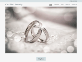 certifiedjewelry.com screenshot