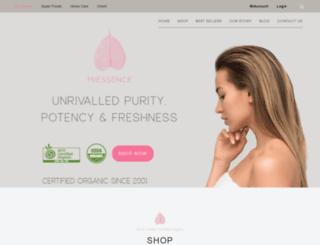 certifiedorganic.miessence.com screenshot