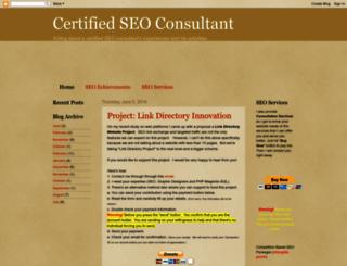 certifiedseo.blogspot.com screenshot