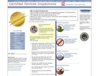 certifiedtermite.com screenshot