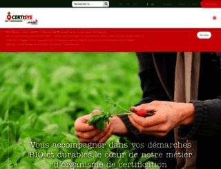 certisys.eu screenshot