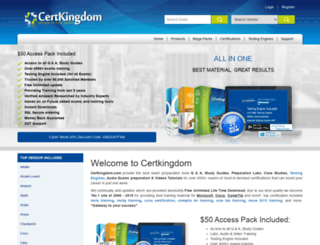 certkingdom.com screenshot