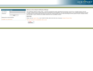 certprep.certiport.com screenshot