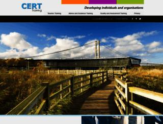 certtraining.co.uk screenshot
