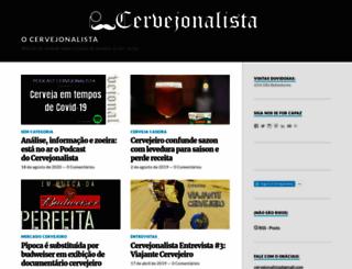 cervejonalista.wordpress.com screenshot