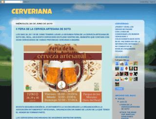 cerveriana.blogspot.com.es screenshot