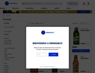 cerveza.uvinum.es screenshot