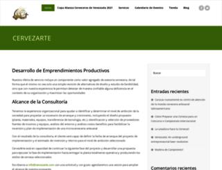 cervezarte.com screenshot