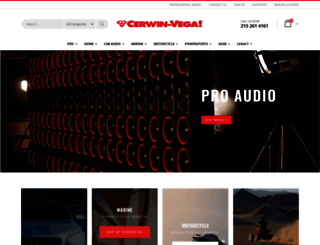 cerwinvega.com screenshot