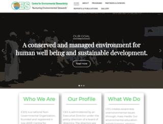 ces-stewardship.org screenshot