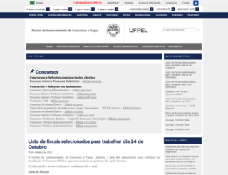 ces.ufpel.edu.br screenshot