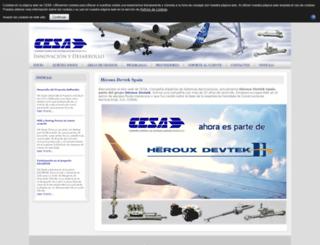 cesa.aero screenshot
