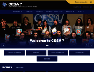 cesa7.org screenshot