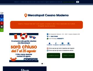 cesanomaderno.mercatopoli.it screenshot