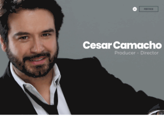 cesarcamacho.com screenshot