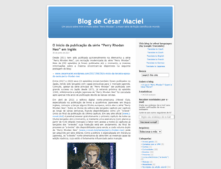 cesarmaciel.wordpress.com screenshot