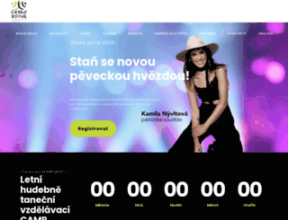 cesko-zpiva.cz screenshot