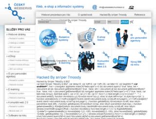 ceskywebservis.cz screenshot