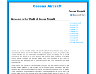 cessnaaircraftreview.com screenshot