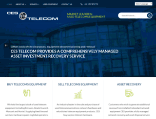 cestelecom.com screenshot