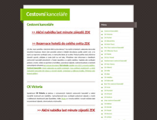 cestovkyonline.cz screenshot