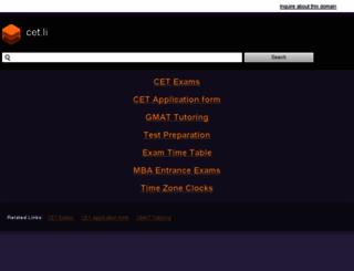 cet.li screenshot