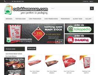 cetakkemasan.com screenshot