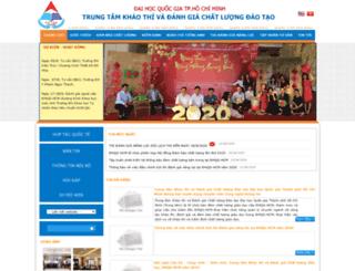 cete.vnuhcm.edu.vn screenshot
