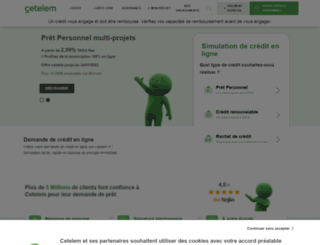 cetelem.net screenshot