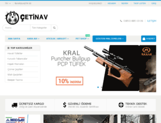 cetinav.com screenshot