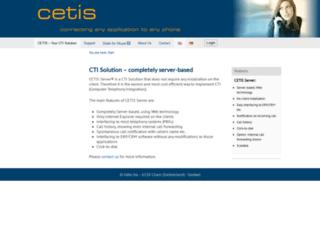 cetis.ch screenshot