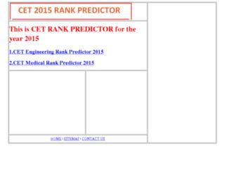 cetrankpredictor.kareducation.in screenshot