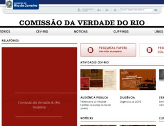 cev-rio.org.br screenshot