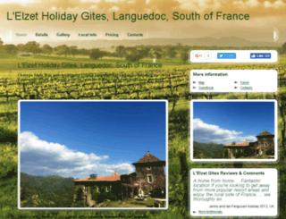 cevennes-holiday-gites.com screenshot