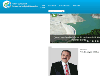 cevreorman.gov.tr screenshot